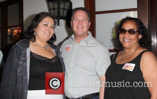 Rosalba Gonzalez, WEHO Mayor Jeff Prang and Chris...