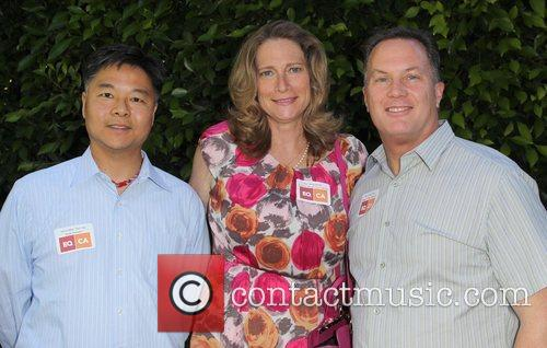 Senator Ted Lieu, Assemblymember Betsy Butler and WEHO...