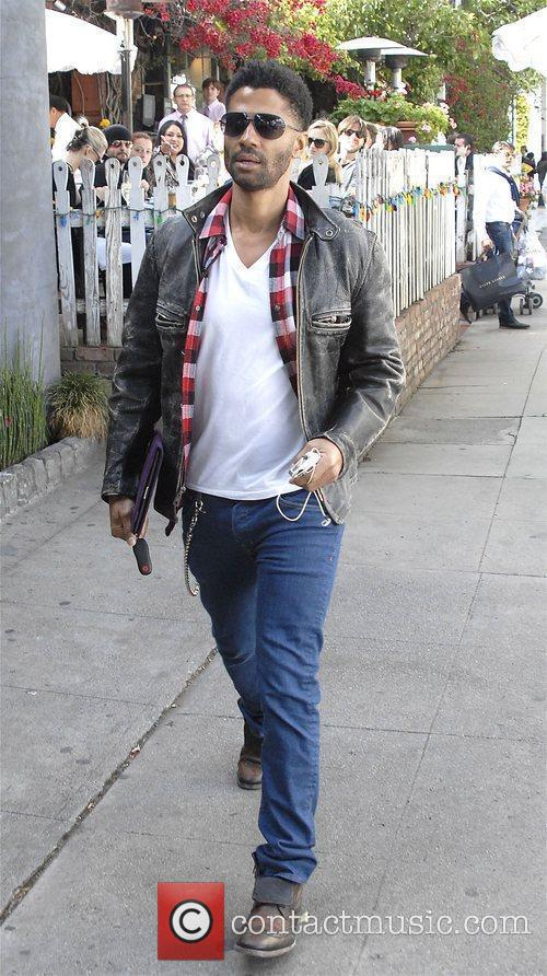 Eric Benet out and about in West Hollywood....