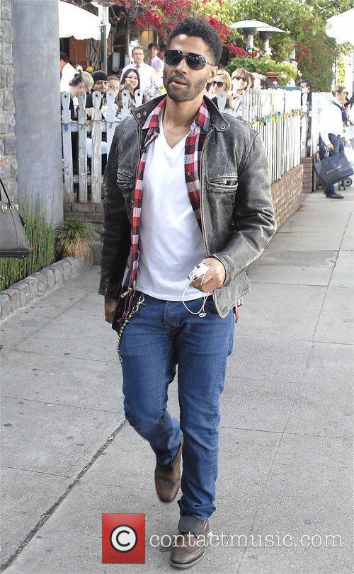 Eric Benet out and about in West Hollywood.