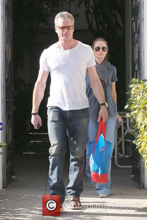 Eric Dane, Rebecca Gayheart and West Hollywood 4