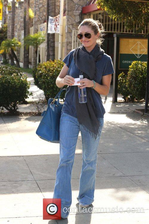 Rebecca Gayheart spends the day shopping in West...