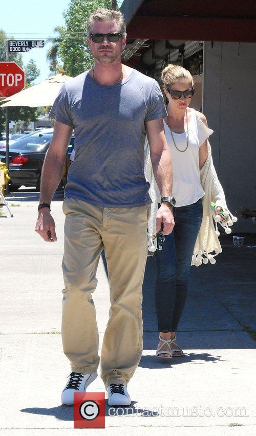 Eric Dane and Rebecca Gayheart leaving the King's...
