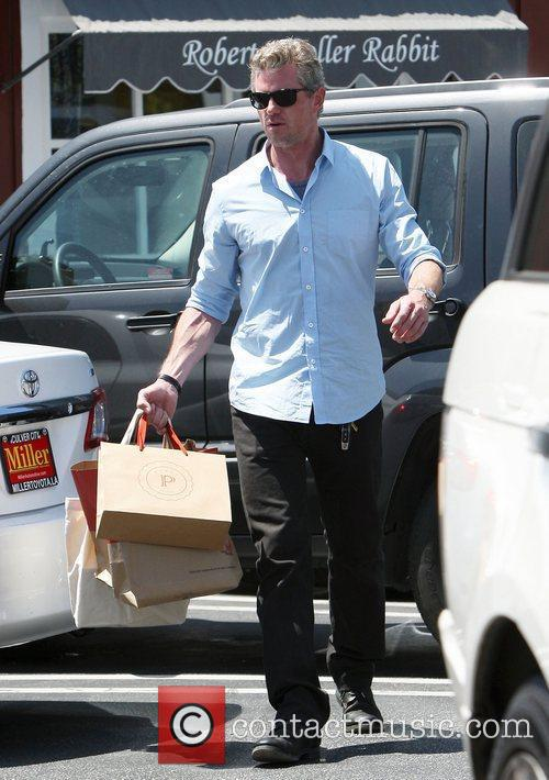 Eric Dane shopping in Brentwood Los Angeles, California