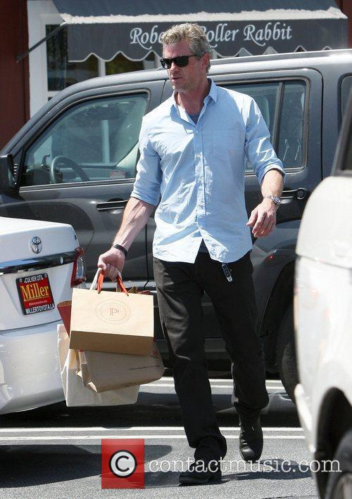 Eric Dane shopping in Brentwood