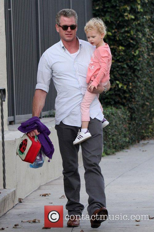 Eric Dane seen with his daughter Billie outand...