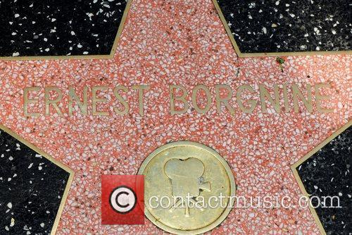 Ernest Borgnine and Walk Of Fame 4