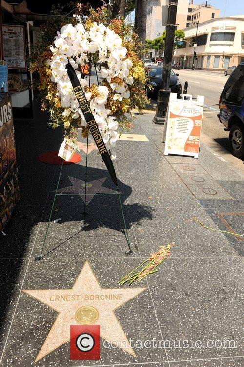 Ernest Borgnine and Walk Of Fame 8