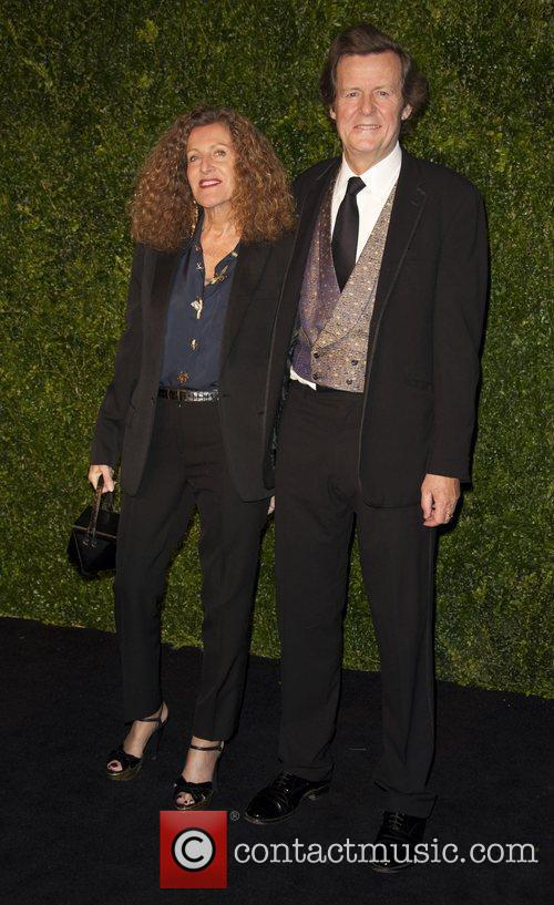 David Hare, Nicole Farhi and London Evening Standard Theatre Awards 2