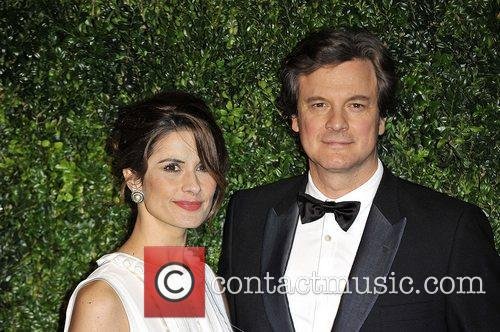 Livia Firth and Colin Firth 1