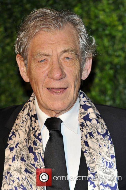 Sir Ian McKellen,  at the London Evening...