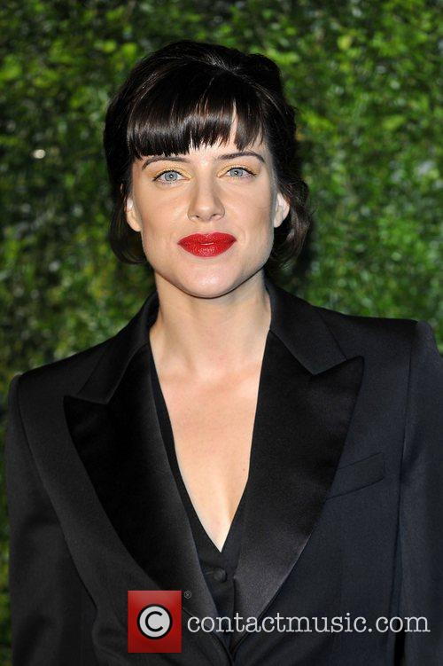 Michelle Ryan,  at the London Evening Standard...