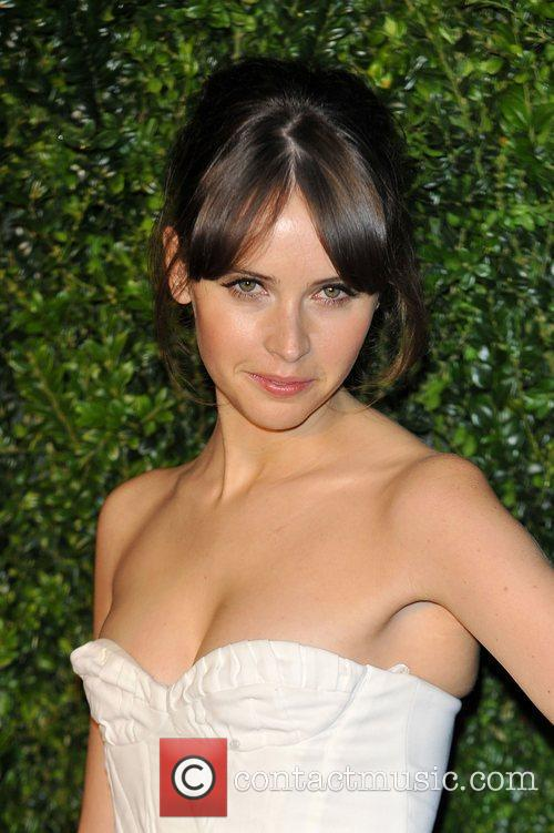 Felicity Jones and London Evening Standard Theatre Awards 7