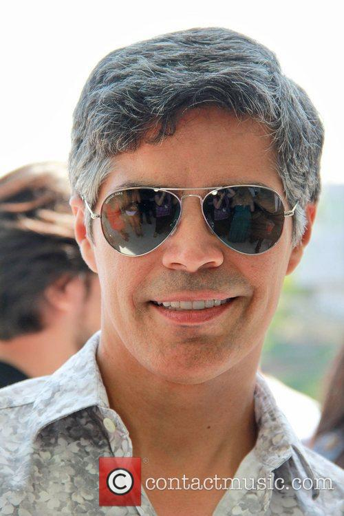 Esai Morales at Bebe Charity Fashion event in...