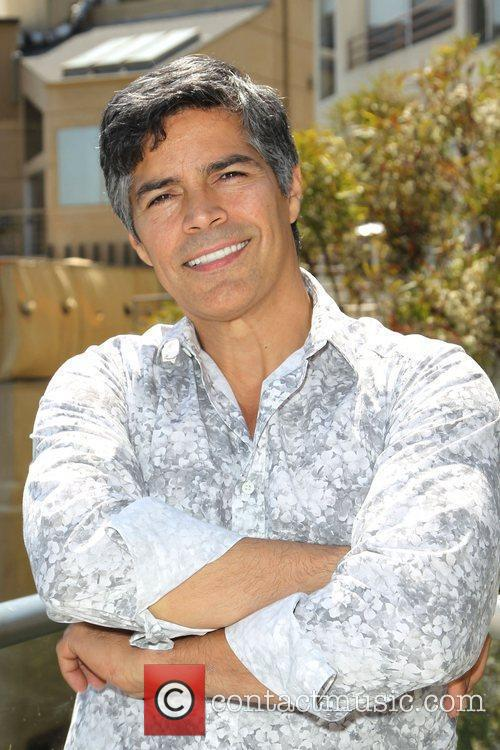Esai Morales hosts Bebe 2012 Summer swimwear collection
