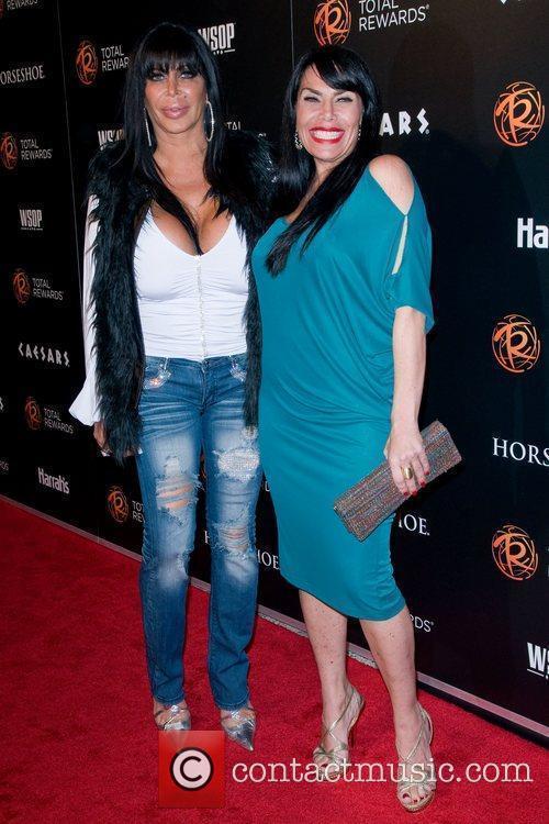 Angela Raiola and Renee Graziano  The Caesars...