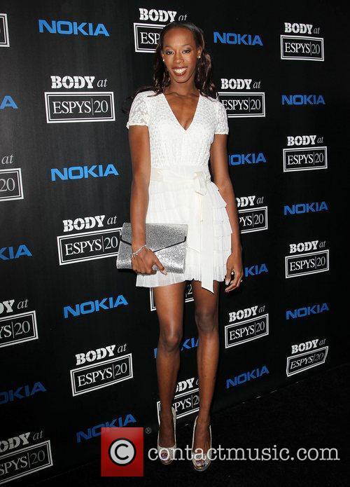 Destinee Hooker ESPN 'Body Issue' Celebration Party held...