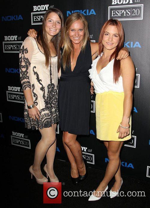 Kaya Turski, Jamie Anderson, Elena Hight ESPN 'Body...