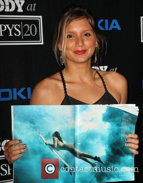 Maya Gabeira ESPN 'Body Issue' Celebration Party held...