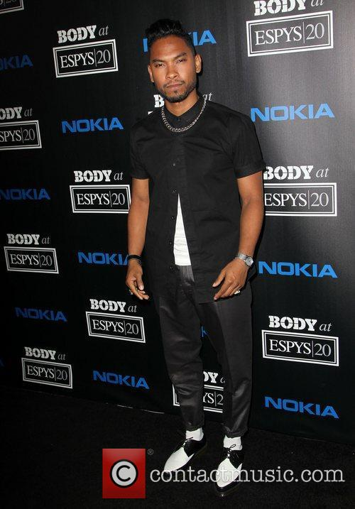 Miguel ESPN 'Body Issue' Celebration Party held at...