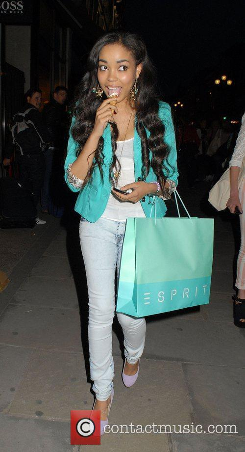 dionne bromfield at the esprit store launch 3942802