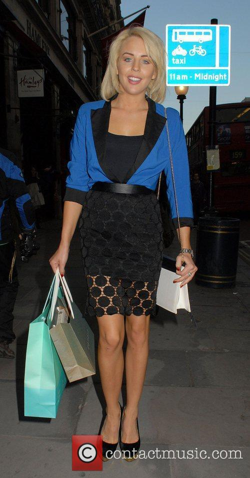 Lydia Rose Bright,  at the Esprit store...
