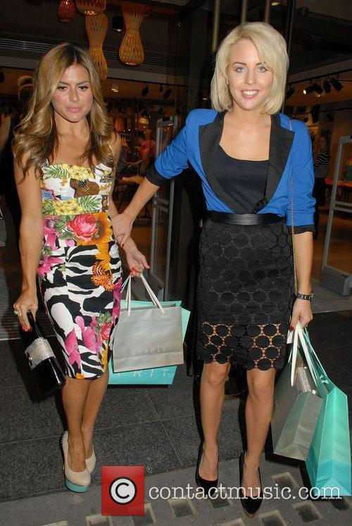 Zoe Hardman and Lydia Rose Bright,  at...