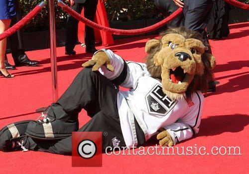 la kings mascott 2012 espy awards red 3986989