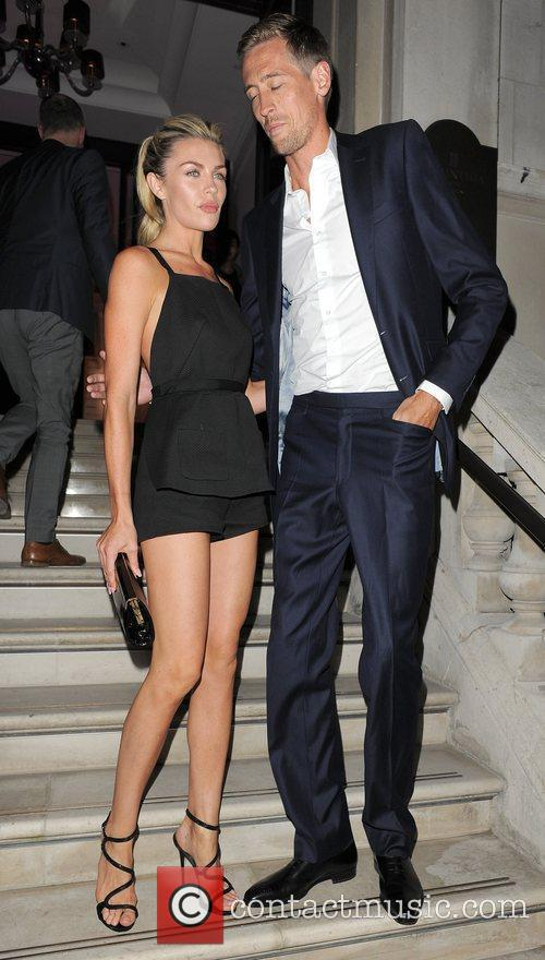 Abbey Crouch aka Abigail Clancy and Peter Crouch...