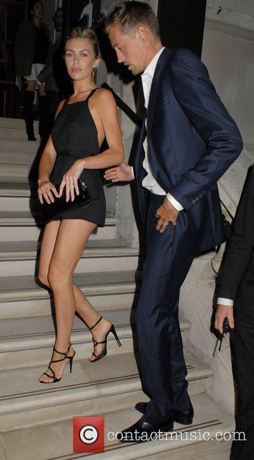 Abbey Clancy and Peter Crouch  Esquire Menswear...
