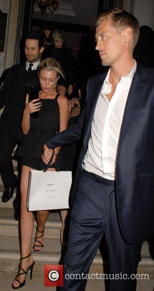 Abigail Clancy and Peter Crouch 5