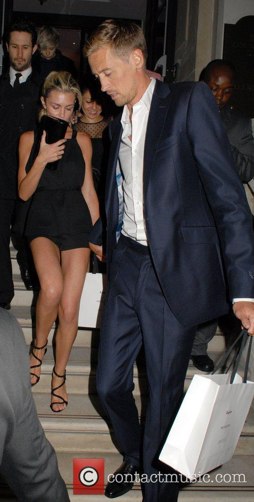 Abigail Clancy and Peter Crouch 6