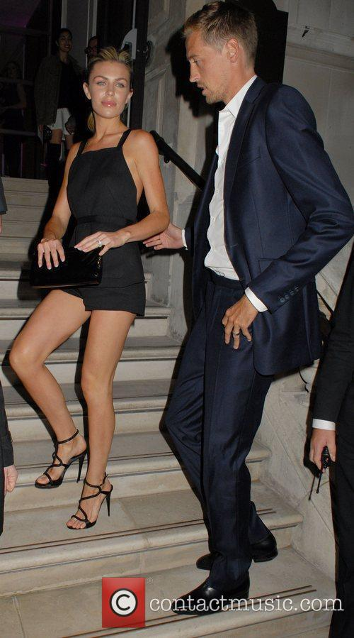 Abigail Clancy and Peter Crouch 9