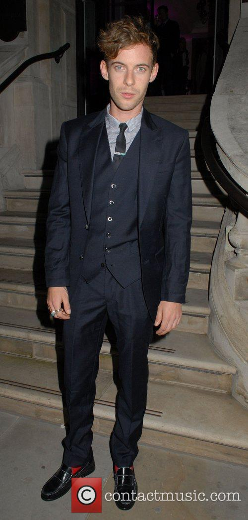 Luke Treadaway  Esquire Menswear Fashion Collection Party...