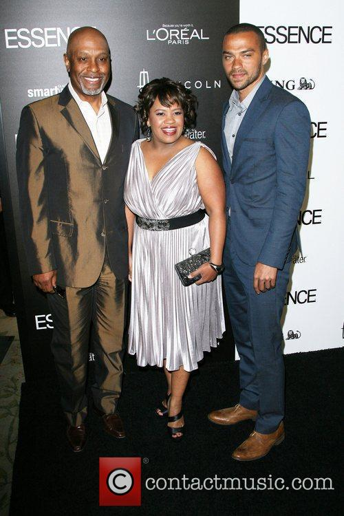 James Pickens, Chandra Wilson and Jesse Williams