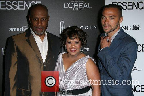 James Pickens, Chandra Wilson and Jesse Williams 2