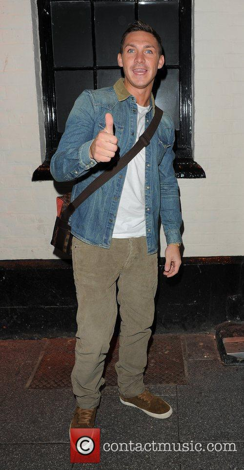 Kirk Norcross enjoys a night out in Essex...