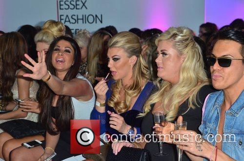 Cara Kilbey, Billi Mucklow, Gemma Collins and Bobby Norris 6