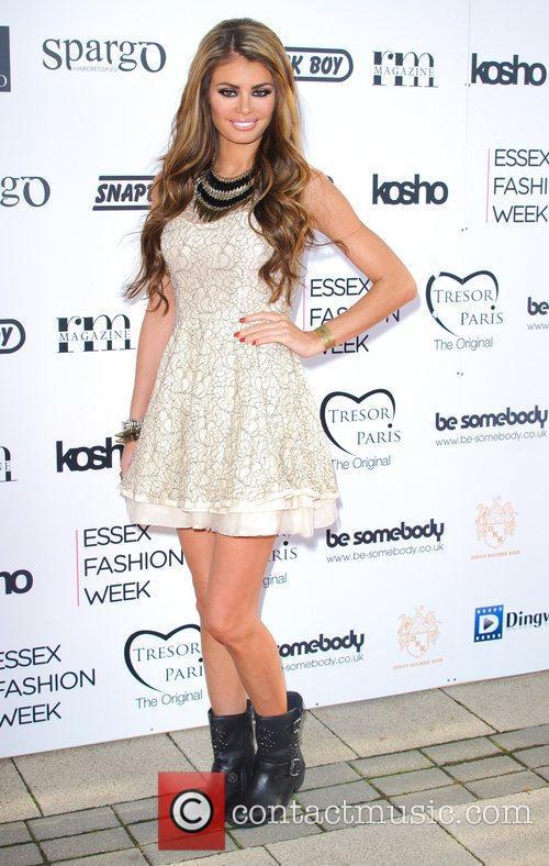 Chloe Sims Essex Fashion Week Spring/Summer 2013 -...