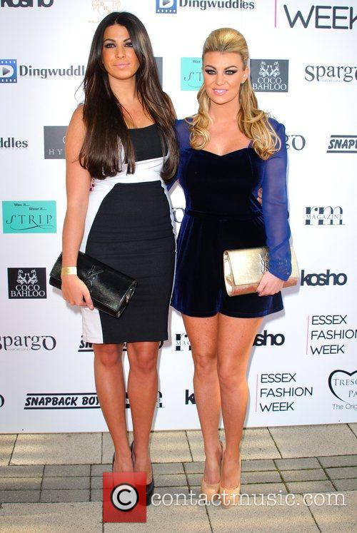 Cara Kilbey and Billi Mucklow Essex Fashion Week...