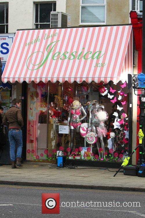 Jessica Wright's shop Essex, England