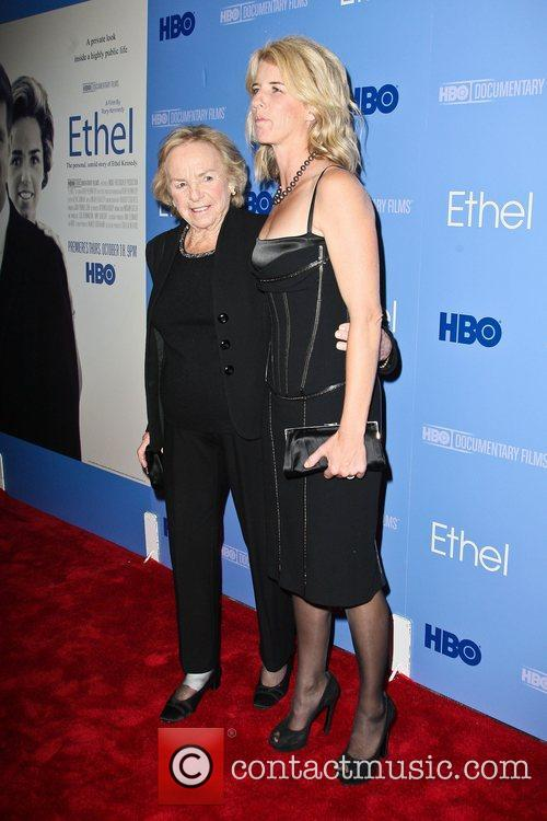 The premiere of the HBO Documentary 'Ethel' held...