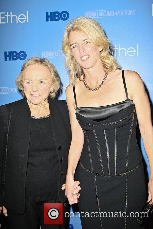 Ethel and Rory Kennedy The premiere of the...