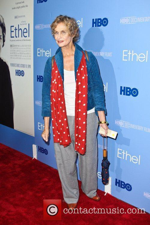 Lauren Hutton The premiere of the HBO Documentary...