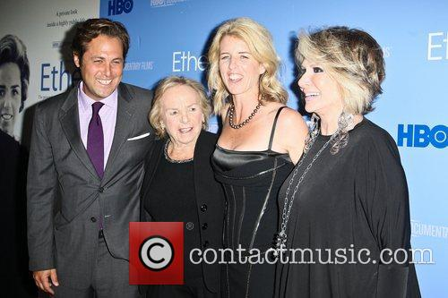Mark Bailey, Ethel Kennedy, Rory Kennedy and Guest...