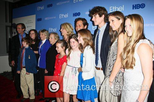 Robert Kennedy, Jr, Jean Kennedy Smith, Ethel Kennedy, Rory Kennedy, Mark Bailey, Conor Kennedy and Kiley Kennedy
