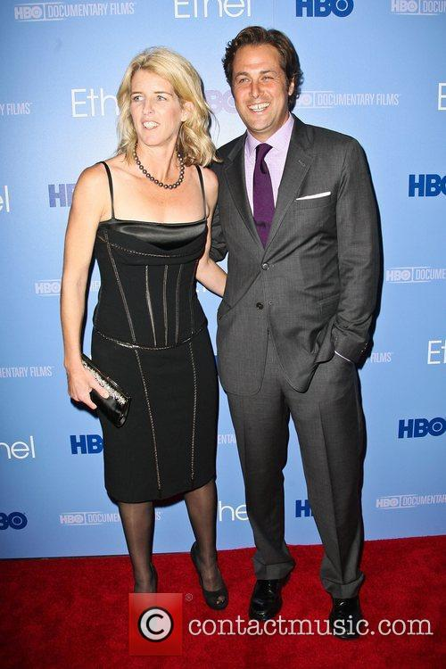 Rory Kennedy and Mark Bailey The premiere of...