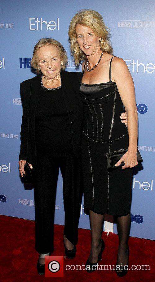 Ethel Kennedy and Rory Kennedy,  at the...