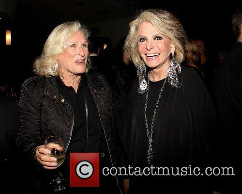 Glenn Close and Sheila Nevins,  at the...