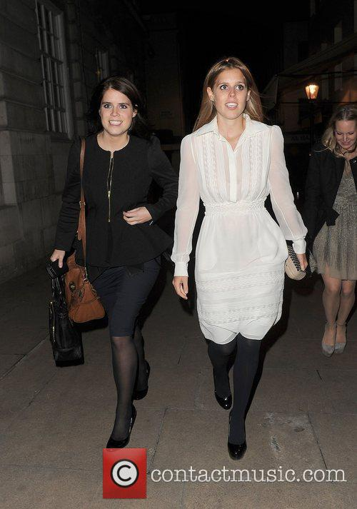 Princess Eugenie, Princess Beatrice, Lou Lou's